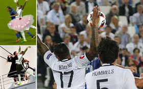 """Pha chơi bóng chuyền hài hước khiến Jerome Boateng bị """"troll"""" nhiệt tình"""
