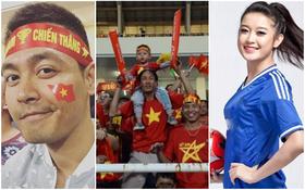 Sao Việt vỡ òa trước những pha ghi bàn đầy kịch tính của đội tuyển Việt Nam