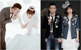 Trấn Thành và Hari Won khi lãng mạn, lúc tinh nghịch trong bộ ảnh cưới