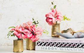 Đơn giản mà đẹp tinh tế với bình hoa xi măng tự chế