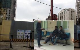 Hà Nội: Sập giàn giáo tòa nhà cao tầng, nhiều công nhân bị thương