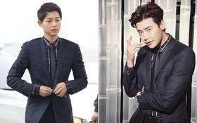 """Song Joong Ki """"đụng hàng"""" với 2 nam thần Lee Jong Suk, Bi Rain"""