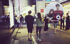 Rời xa showbiz, vợ chồng son Goo Hye Sun - Ahn Jae Hyun âu yếm dạo chơi Nhật Bản