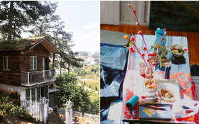 Thêm một căn nhà cực xinh xắn chứng minh Đà Lạt đúng là thiên đường homestay!