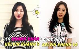 Hai mỹ nhân Kpop Eunjung (T-ara) và Yura (Girl's Day) gửi lời động viên trực tiếp đến Khánh Khánh