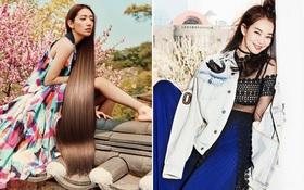 Park Shin Hye đẹp ma mị với suối tóc dài không tưởng, Shin Min Ah sành điệu trên tạp chí