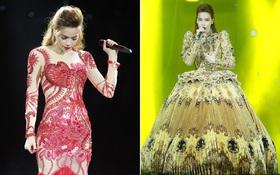 """Không chỉ """"đốn tim"""" với Love Songs, Hà Hồ còn chứng tỏ bản lĩnh của Nữ hoàng thời trang sân khấu"""
