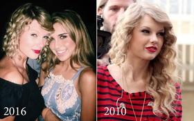 """Để lại kiểu tóc cũ, Taylor Swift đã trở thành """"em của ngày hôm qua"""""""
