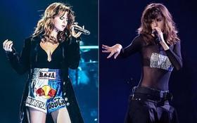 Selena Gomez lại khiến fan rạo rực với loạt trang phục biểu diễn trong tour mới nhất