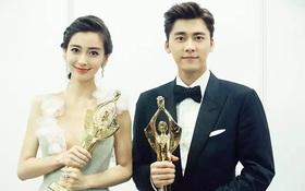 Lý Dịch Phong, Angela Baby bị ném đá khi đoạt giải tại Bách Hoa