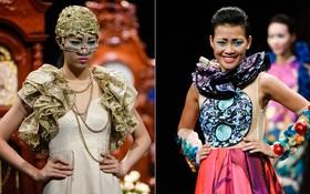 """""""Haute Couture Việt Nam"""": Lại gây tranh cãi vì cách biệt 1 trời 1 vực với chuẩn quốc tế"""