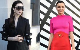 """Phạm Băng Băng & Miranda Kerr: """"Cuộc chiến"""" nhan sắc lẫn phong cách tại show Louis Vuitton"""