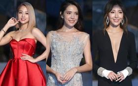 Dàn mỹ nhân xứ Đài váy áo lộng lẫy, đọ sắc tại thảm đỏ Kim Chung lần thứ 51