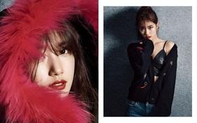Lại phải ngẩn ngơ trước dung nhan gợi cảm của Suzy trên tạp chí tháng 10