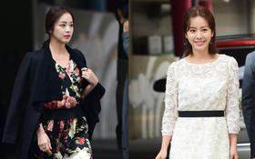 Lâu lắm mới thấy hai ngọc nữ Hàn Kim Tae Hee và Han Ji Min đọ sắc như thế này ở sự kiện