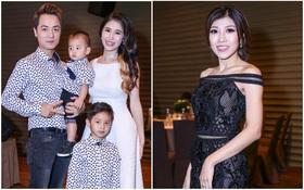 Vợ chồng Đăng Khôi khoe 2 nhóc tì xinh trai, Trang Pháp thon thả với váy ôm sát