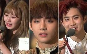 MAMA 2016: Ôm giải khủng nhất, TWICE, BTS khóc rưng rức, EXO toe toét
