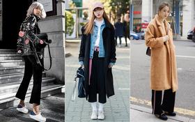 Bắt chước ngay street style ngày lạnh ấm khỏi bàn, đẹp miễn chê của giới trẻ thế giới