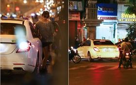Trấn Thành lái xe chở Hari Won chạy ngược chiều, vi phạm luật giao thông