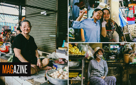 """Người miền Trung ở Sài Gòn, nhớ quê thì tới chợ Bà Hoa để nghe những """"chi, mô, rứa, hè"""" thật thân thương..."""