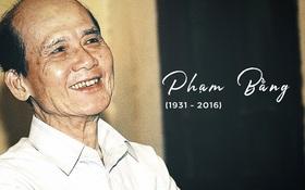 Nghệ sĩ Phạm Bằng qua đời ở tuổi 85 vì bệnh viêm gan