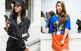 Street style 2 miền: Hà Nội toàn đen trắng đối lập Sài Gòn rực rỡ sắc màu