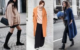 """Giới trẻ thế giới sẵn sàng đón năm mới với street style chẳng """"lồng lộn"""" mà vẫn đẹp rụng rời"""
