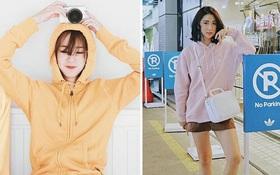 """Mặc kệ các loại áo trendy khác, cứ thu sang là áo hoodie vẫn cứ """"hot"""" như thường"""