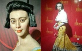 """""""Cười bể bụng"""" với những bức tượng sáp mô phỏng """"nữ hoàng thị phi"""" Phạm Băng Băng"""