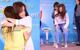 Toàn cảnh họp fan T-ara: Các cô nàng ôm chặt, cõng fan cùng vượt qua thử thách