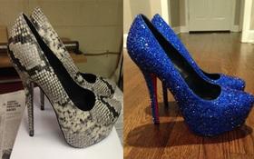 Cách độ giày hàng chợ thành Christian Louboutin kiêu kỳ đã khiến các cô gái phát cuồng
