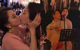 """Từ Nhược Tuyên """"cưỡng hôn"""" Lâm Tâm Như, Phạm Băng Băng """"cháy hết mình"""" song ca với Châu Tấn"""