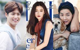 Park Bo Gum vượt mặt Song Joong Ki cùng loạt mỹ nam, mỹ nữ trong BXH danh tiếng