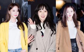 """Yoona bị Irene """"đè bẹp"""", loạt sao lộ mặt gầy guộc, trắng bệch đáng sợ tại sự kiện"""