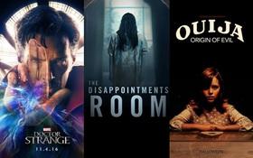 Tháng 10: Mùa Halloween, mùa phim kinh dị, kì bí hoành hành