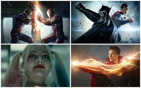 Xếp hạng phim chuyển thể truyện tranh của năm 2016