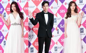 Thảm đỏ SBS Drama Awards: Lee Min Ho và Park Shin Hye tái hợp, loạt sao đình đám bất ngờ trở lại