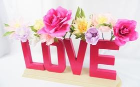 Không cần lọ cũng có thể cắm hoa đẹp lung linh