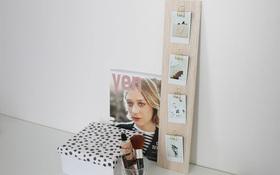 Làm khung ảnh treo tường đẹp và không thể dễ hơn chỉ với một tấm gỗ