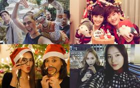 """Dàn sao hot nhất châu Á """"quậy"""" tưng bừng nhân dịp lễ Giáng sinh"""