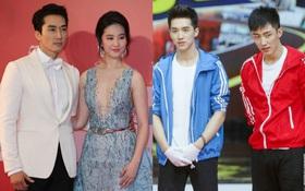 Cuối năm tiếp tục nghe Phong Hành tiết lộ: Du - Châu trục trặc, Lưu Diệc Phi - Song Seung Hun giả vờ hẹn hò?