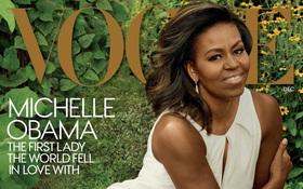 """Sắp rời Nhà Trắng, bà Obama vẫn """"chễm chệ"""" trên bìa Vogue lần thứ 3"""