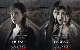 """Midu lạnh lùng, Elly Trần hoảng hốt trên poster """"Bí Ẩn Song Sinh"""""""