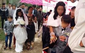 """Đám cưới cổ tích của """"Bạch Tuyết và chú lùn"""" ở Hà Tĩnh gây xôn xao"""