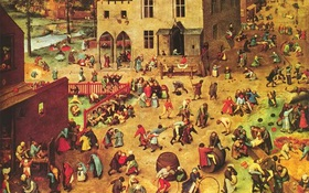 Không thể ngờ rằng những trò chúng ta chơi hồi bé đã có tuổi đời 500 năm