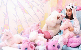 """Quán cafe kỳ lân tông """"hường"""" mộng mơ dành cho fan của """"My Little Pony"""""""
