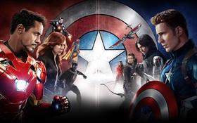 """""""Captain America: Civil War"""" giúp Vũ trụ Điện Ảnh Marvel kiếm bộn"""
