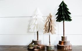 """Làm cây thông cực xinh trong """"một nốt nhạc"""" để kịp đón Giáng sinh"""
