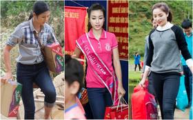 Không chỉ Phan Anh, Hà Hồ mà hàng loạt sao Việt cũng lên đường cứu trợ bà con miền Trung