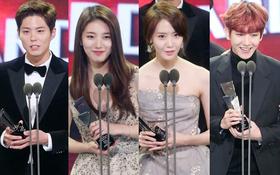 """Park Bo Gum, Suzy, Baekhyun và Yoona oanh tạc """"Asia Artist Awards"""""""